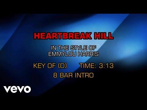 Emmylou Harris - Heartbreak Hill (Karaoke)