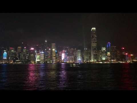 Hong Kong Symphony of Lights April 2017 4K