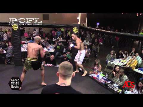 Prison City Fight league Daniel Bostick Vs Dennis Stewart 135