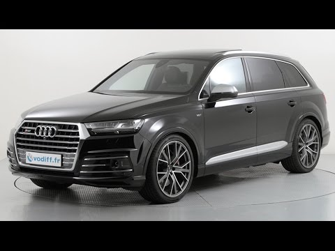 audi sq7 4 0 tdi quattro 435 cv tiptronic 7 places sur quip youtube. Black Bedroom Furniture Sets. Home Design Ideas
