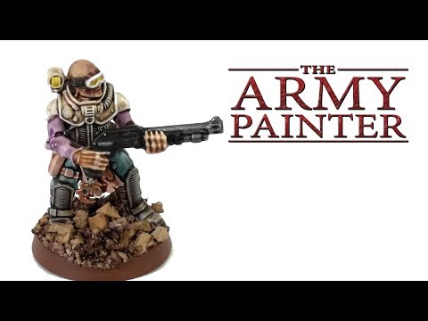 How I Paint Things - Painting With Army Painter Ink Washes