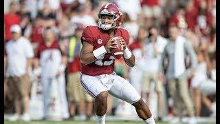 Alabama QB Tua Tagovailoa's 10 Best Touchdowns of 2018