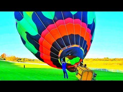 Hot Air Balloon Setup streaming vf