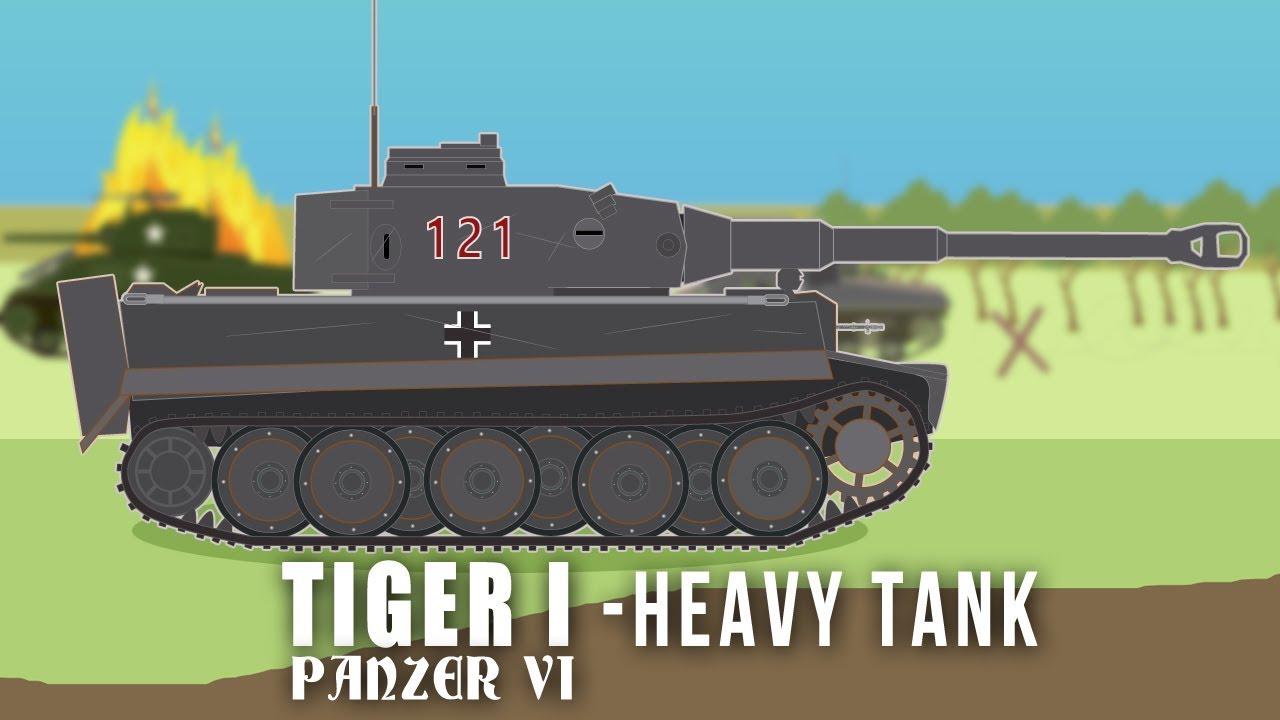 Wwii Tanks Tiger I Heavy Tank Youtube