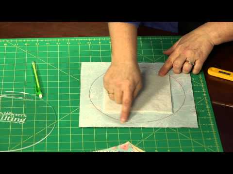 How To Make Quilting Quickly S Quot Running In Circles Quot Table