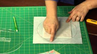 """How To Make Quilting Quickly's """"running In Circles"""" Table Runner: A 'quilt-as-you-go' Lesson"""