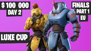 Fortnite Luxe Cup Finals Part 1 Highlights - EU Day 2 [Fortnite Tournament 2019]