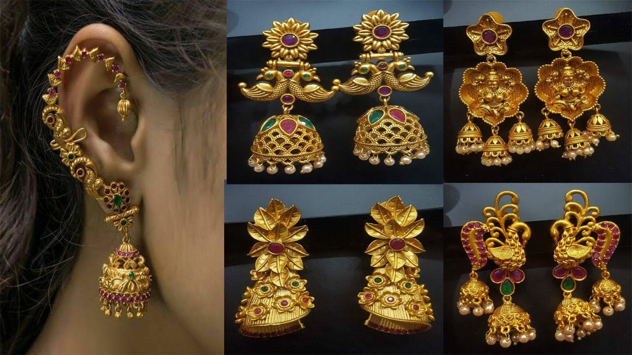 Latest Artificial Jewellery Earrings designs for parties and dialy wear earrings   Today Fashion