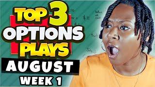 Top 3 Options Plays This Week | #WeeklyOptions 🔥🚀