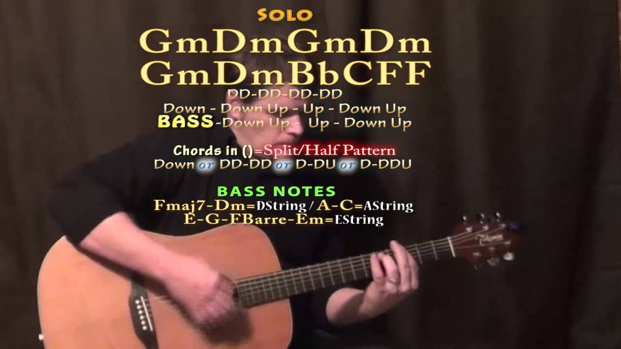And I Love Her The Beatles Guitar Lesson Chord Chart Youtube