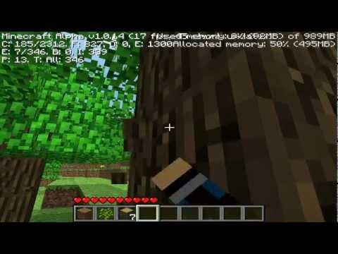 Minecraft: Versão Alpha 1.0.14 - Lembrando os velhos tempos!