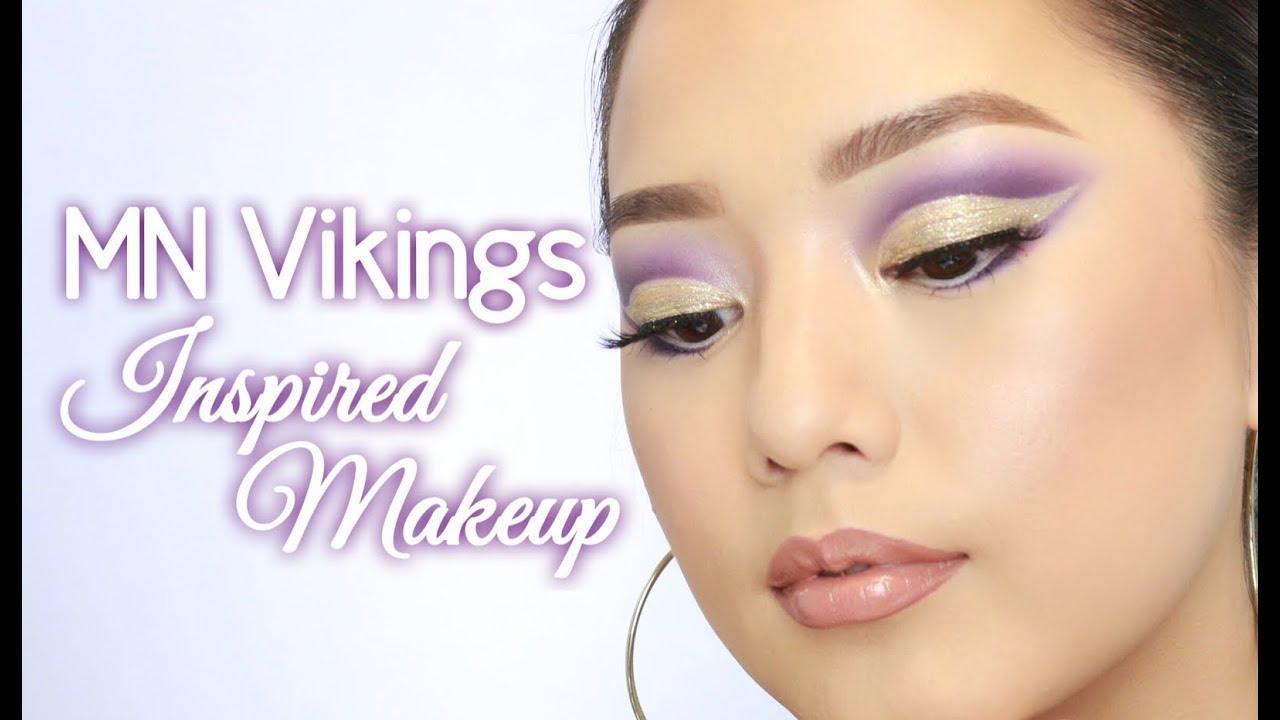 Mn Vikings Inspired Makeup Sophia Thao