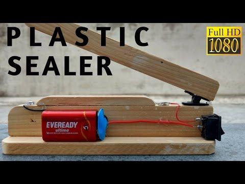 How to make Plastic Bag Heat Sealer Machine easy