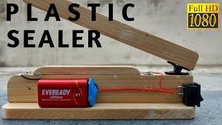 كيفية جعل كيس من البلاستيك السداده الحرارة آلة سهلة