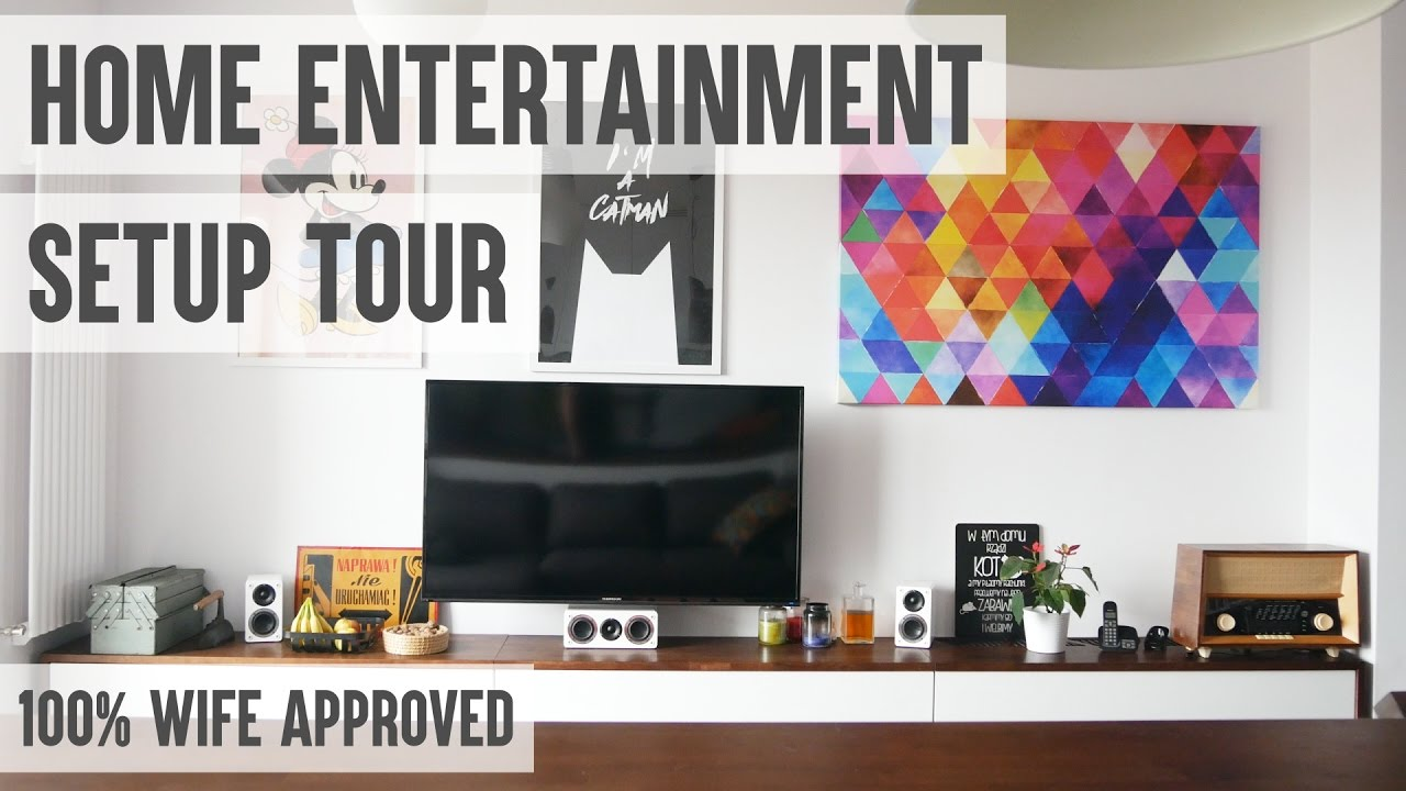 Wife Approved Home Entertainment Setup Tour