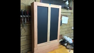 Wall Hanging Tool Chest Part 4 - Draws And Door