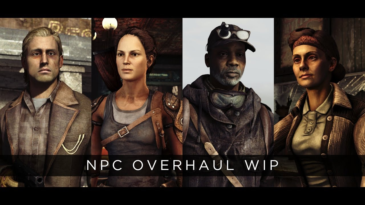 Best Mods For Fallout New Vegas 2019 Fallout: New Vegas 2019 Mod   NPC Overhaul 4K   YouTube