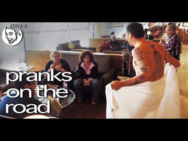 Pranks On The Road! - Steve-O