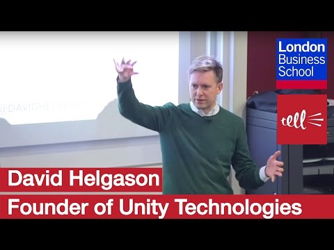 David Helgason: Founder of Unity Technologies | London Business School