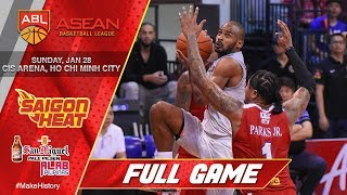 Saigon Heat vs Tanduay Alab Pilipinas | LIVESTREAM | 2017-2018 ASEAN Basketball League