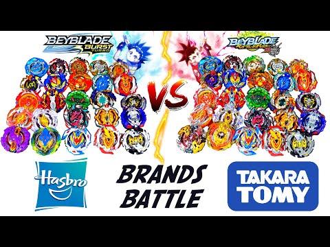 BRANDS BATTLE: BEYBLADE BURST TURBO VS BEYBLADE BURST SUPER-Z (HASBRO Vs TAKARA TOMY)