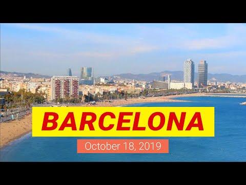 Barcelona, Catalonia, Spain. Webcam City View