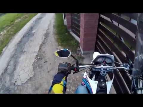 Let's ride Rieju MRX Yamaha Aerox supermoto