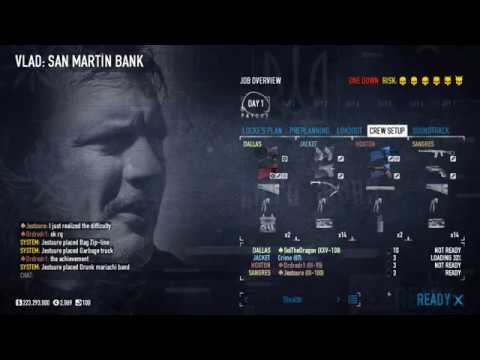 Payday 2: San Martin Bank The new heist for 2020 |