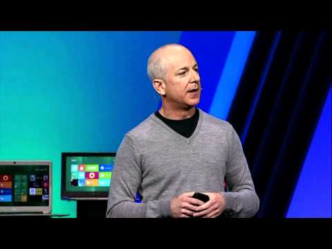 Microsoft 2011 BUILD Developer Conference Steven Sinofsky Presentation Part 1