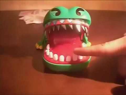 Wow takutnya kalau tersalah tekan gigi buaya tu