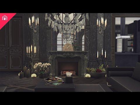 Luxury Parisian Apartment | The Sims 4: Speed Build | HARRIE