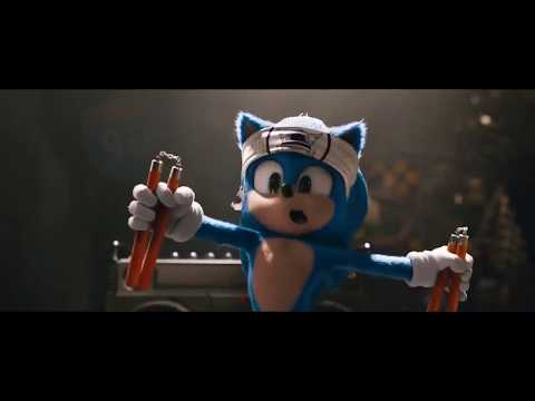 sonic the hedgehog new official trailer mtv movies VIDEOFiN RU
