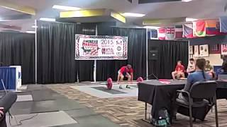 "Gary ""Cargo Pants"" Karkuff Clean and Jerk #3 USA Masters Open 2015"