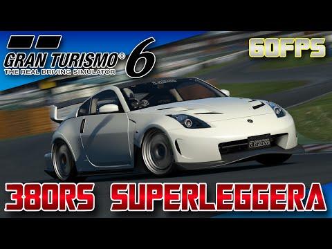 GT6 (60 FPS) - Amuse's Nissan Nismo 380RS Superleggera - Tsukuba Circuit - TIME ATTACK
