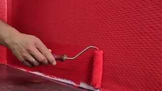 видео краска для виниловых обоев на флизелиновой основе