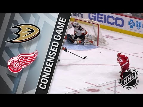 Anaheim Ducks vs Detroit Red Wings – Feb. 13, 2018 | Game Highlights | NHL 2017/18. Обзор