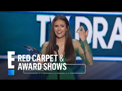 The People's Choice for Favorite TV Drama Actress is Nina Dobrev