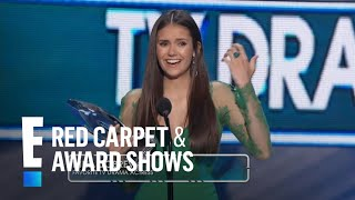 The People's Choice for Favorite TV Drama Actress is Nina Dobrev | E! People's Choice Awards