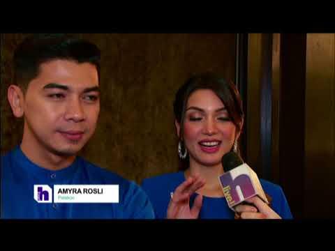 Amyra Rosli & Amar rancang cuti Raya