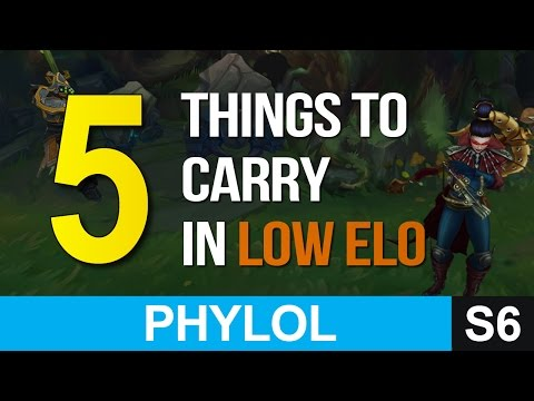 5 things to CARRY YOUR TEAM at lower elo (from my experience)