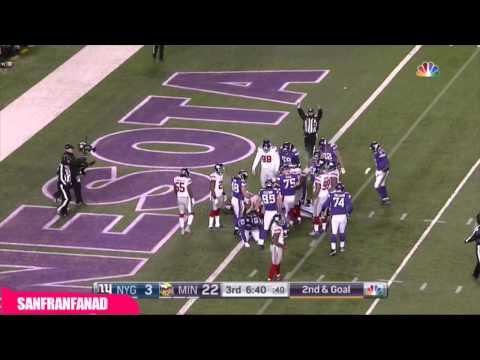 Adrian Peterson Runs All Over Giants (2015 NFL Week 16)   NFL Highlights HD