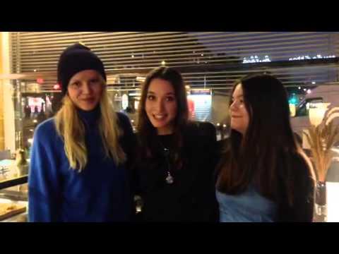 Videohälsning Från Leona, Josefin Och Helena Från Filmen