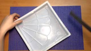 Пластиковые формы для изготовления тротуарной плитки(Пластиковые формы для самостоятельного изготовления тротуарной плитки Banggood Плитка 24.5*24.5*5 https://ad.admitad.com/g/e8f1..., 2016-03-31T21:33:05.000Z)