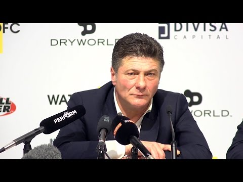 Watford 0-5 Manchester City - Walter Mazzarri Full Post Match Press Conference