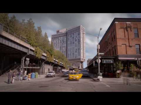 CGI Timelapse - Highline New York City