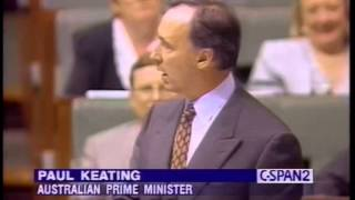 Paul Keating vs. Downer (Laura Tingle Book)