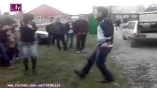 100% Чеченка упала на Танцполе! Лезгинка 2015 / 100% Chechen woman fell Lezghinka 2015 /