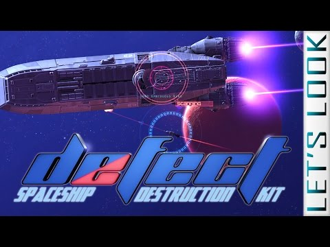 Defect [spaceship building shooter mutiny] - Let's Look