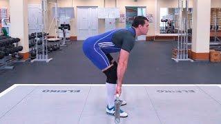 Становая тяга на прямых ногах: техника и нюансы