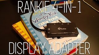 Rankie 4-in-1 Thunderbolt/Mini Display Port Adapter Review!!